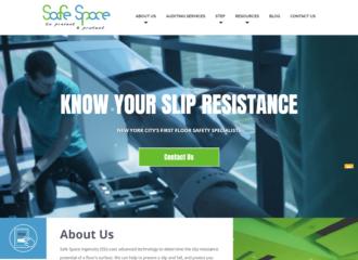 Safe Space Ingenuity Website Design