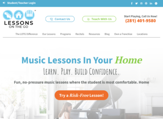 Lessons on the Go WordPress Website Design