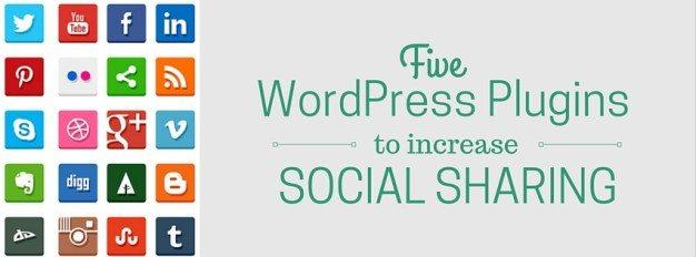 5 WordPress Plugins To Increase Social Sharing
