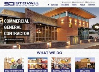 Stovall Construction Website