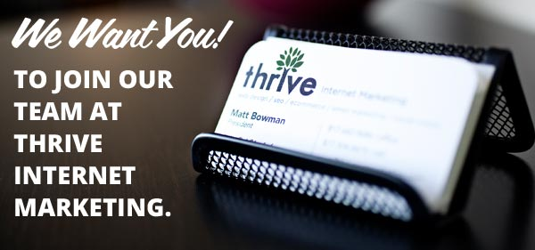 Join Our Team at Thrive