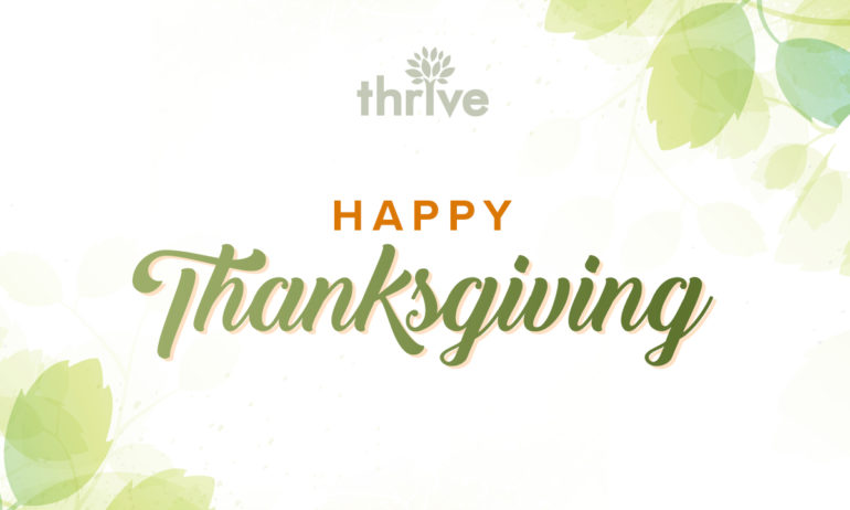 Thrive Thanksgiving