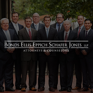 Bonds Ellis Eppich Schafer Jones LLP Law Firm Website Design
