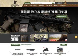 Web Design For Western Sport