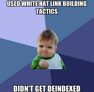 link building tips that are white hat success boy